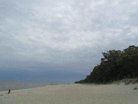 Libertad, Uruguay: Una vista de la playa