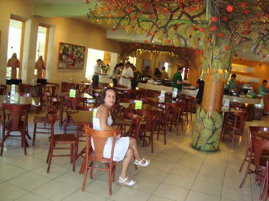 Esta foi uma foto tirada no restaurante Chica Pitanga, bem pertinho da praia da Boa Viagem