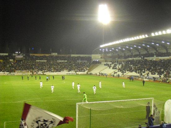 Albacete, إسبانيا: Interior del Estadio Carlos Belmonte, Albacete