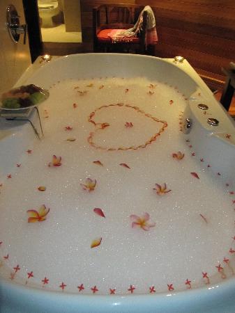 Hilton Seychelles Northolme Resort & Spa: Special treat