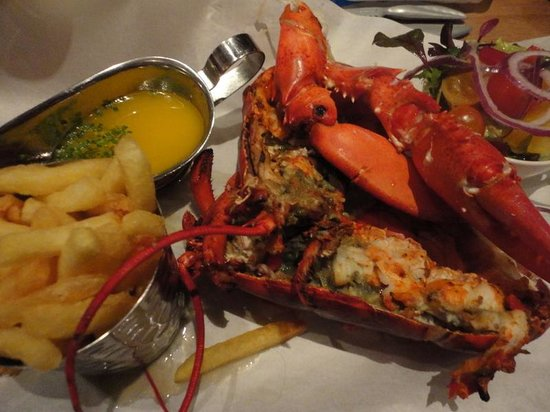 Burger & Lobster - Mayfair: The grilled lobster