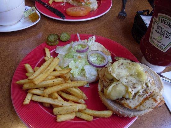 T.G.I. Friday's Andel: Chicken Burger Special