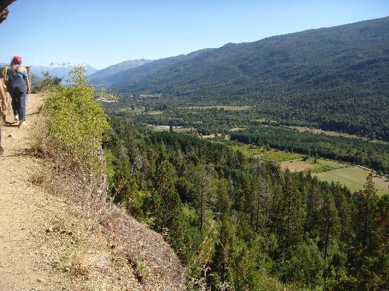 Cascada Escondida: Una de las partes mas estrechas