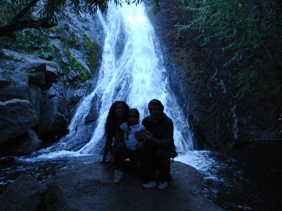Cascada Escondida: La cascada!