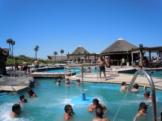 Victoria del Agua Parque Acuatico y Termal: Las piletas