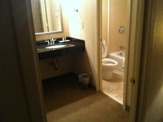 Regency Suites: Vanity area of bathroom