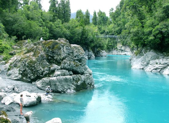 Hokitika, New Zealand: Gorge view