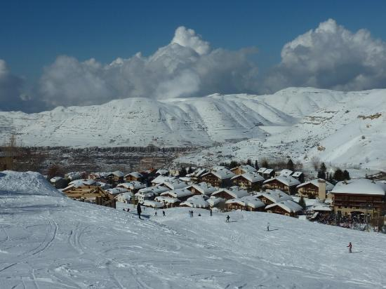 InterContinental Mzaar Mountain Resort & Spa: View from the slopes