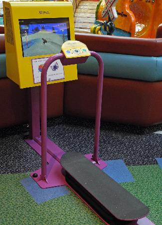 """CF Market Mall : Play area for older kids - 42"""" to 46"""" tall"""