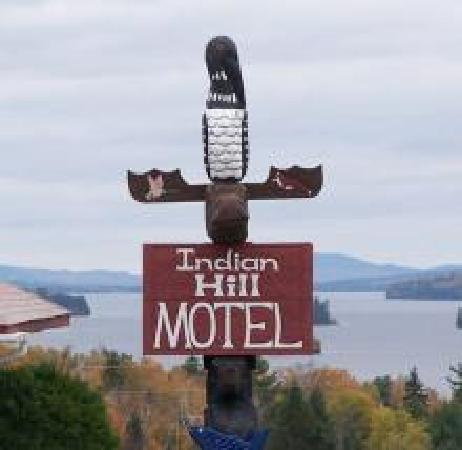 Indian Hill Motel ~ overlooking Moosehead Lake