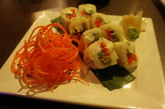 Hotel Chester: Delicious pickled okra sushi from Sugoi