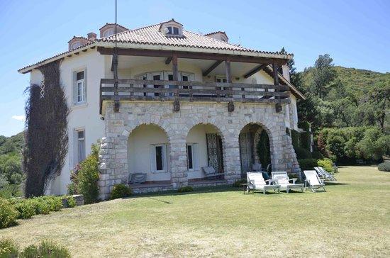 Castillo de Mandl: Terrasse