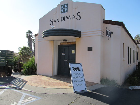 Pacific Railroad Museum: San Dimas Railroad Museum