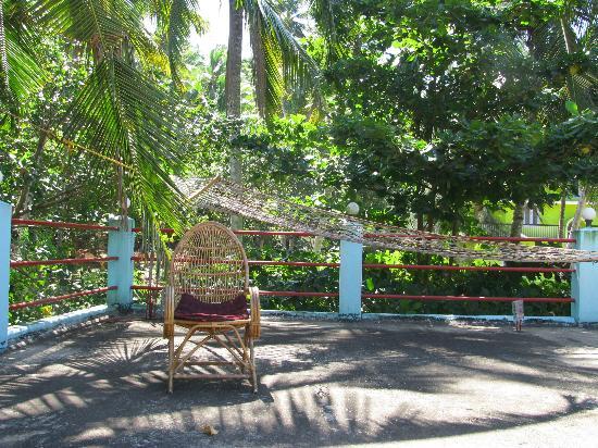 Panchavadi Ayurvedic Beach Resort: Panchavadi roof terrace