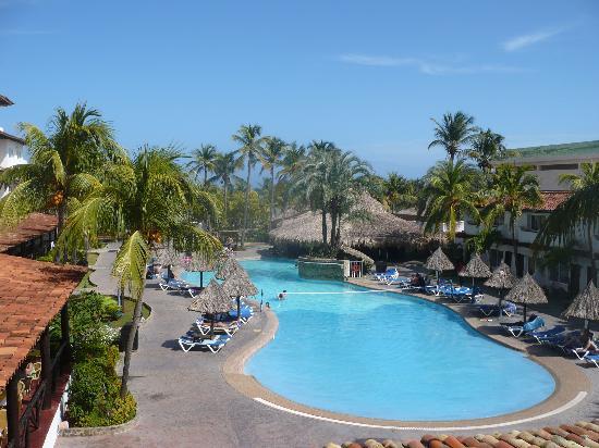 Isla Caribe Beach Hotel : desde el balcon de la habitacion