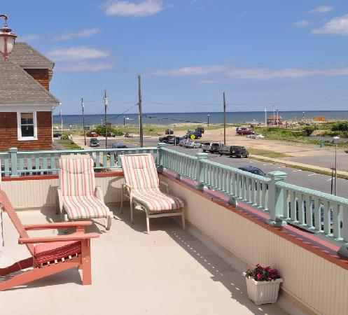 The Sea Spray Inn: Relax and unwind on the second floor wrap-around porch