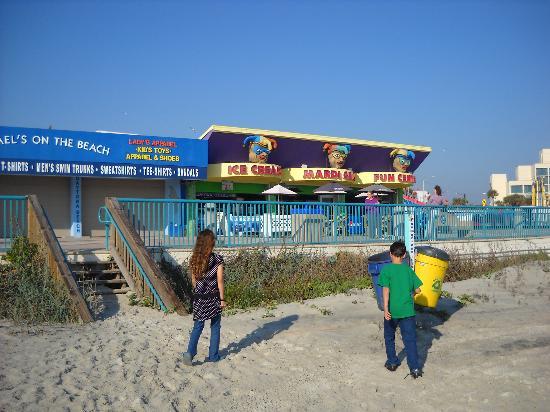 德通納海灘照片