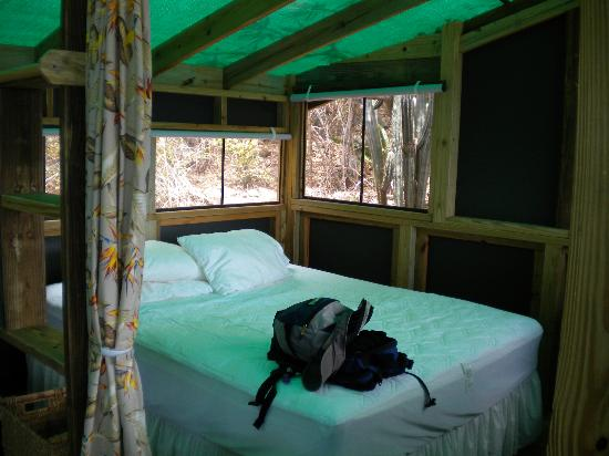 Virgin Islands Campground : the cabin
