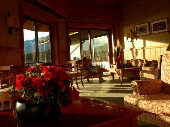 Hotel Loberias del Sur: Living room