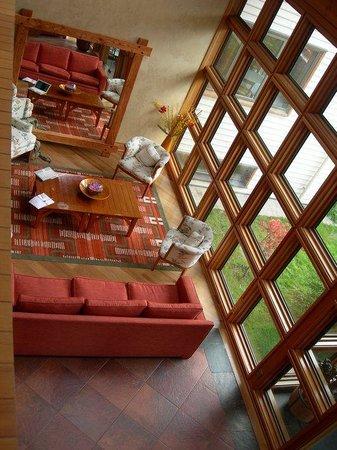 Hotel Loberias del Sur: Reception.
