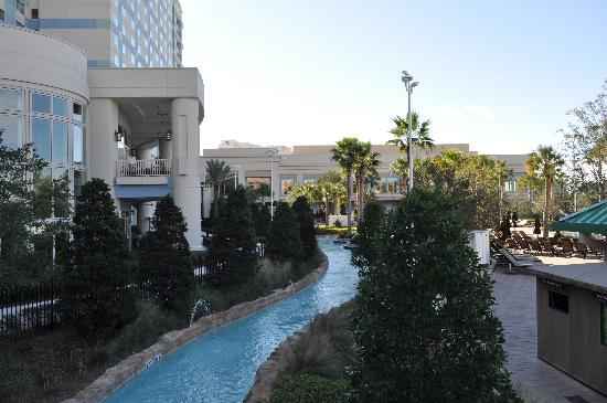 Hilton Orlando Bonnet Creek: Enjoyable lazy river