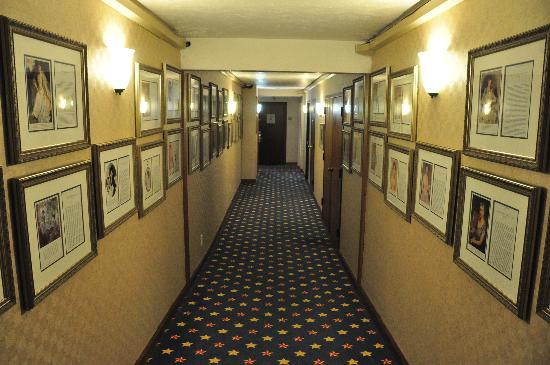 SureStay Plus Hotel Omaha South: Pictures and written descriptions of Presidents and First Ladies can be found throughout the mai