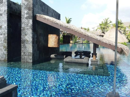 "The St. Regis Bali Resort: loved the ""living room"" in the pool"