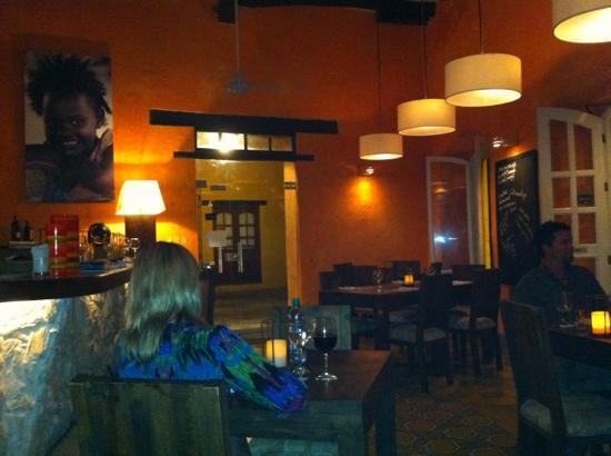 Salou Cartagena de Indias : View of the restaurant