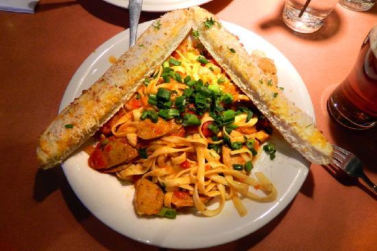 Boston Pizza: My Jambalaya Meal