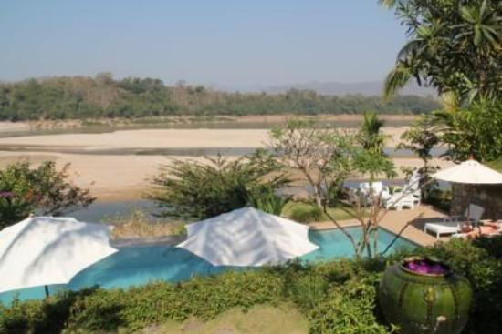 Mekong Estate: View of the Mekong river