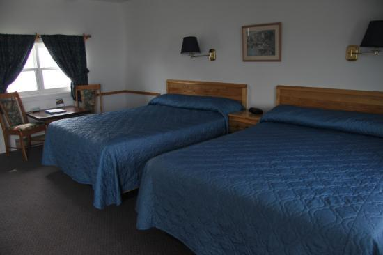 Ocean View Motel & Chalets: chambre