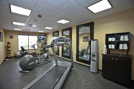 Hampton Inn Norco-Corona-Eastvale : Fitness Center to help you stay active on your travels.