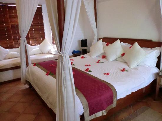 Kuramathi Island Resort: herrliches Himmelbett