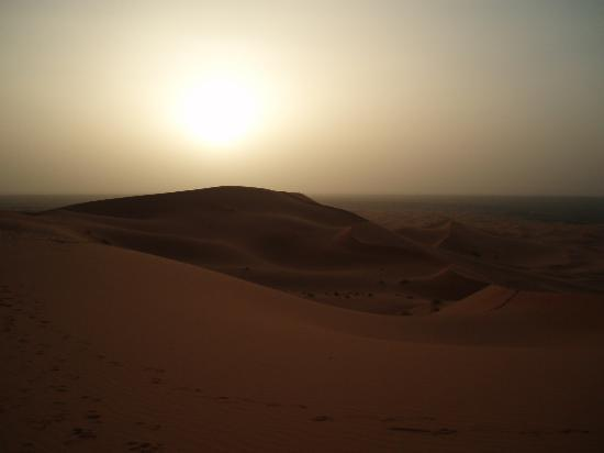 Belere Hotel: tramonto nel deserto