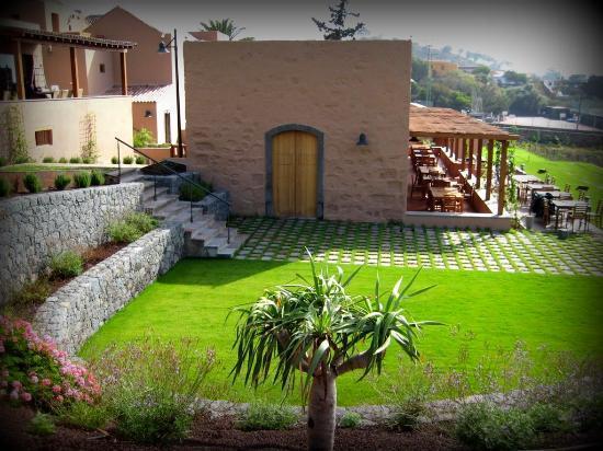 Hotel Rural El Mondalon: Jardines de ensueño
