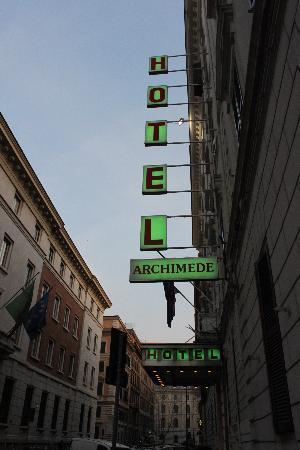 Hotel Archimede: Dışardan gorunum