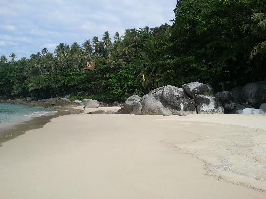 Amanpuri: la plage