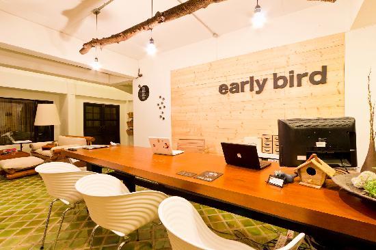 Early Bird Bed & Breakfast: Reception