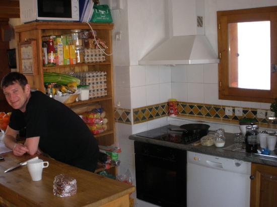 Chalet Bon Vie : Drew the Chef in his element