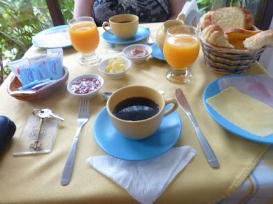 Posada del Angel: Desayuno