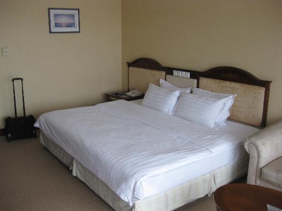 International Seaside Hotel: Bed