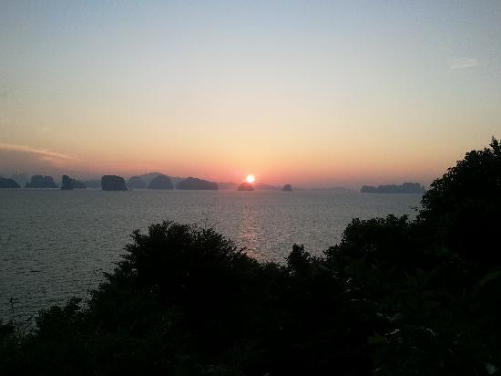 Six Senses Yao Noi: la vue de la chambre