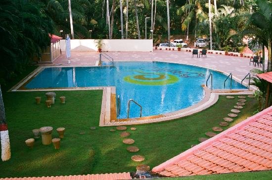 Kovalam, Indie: Swimming Pool