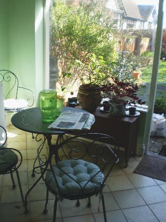 The Bell: Garden room