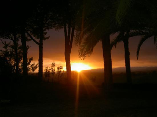 Villa Acquaviva: tramonto