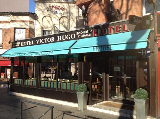Hotel Victor Hugo Toulouse: entrée