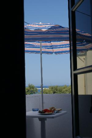 Studios Nostos: our balcony