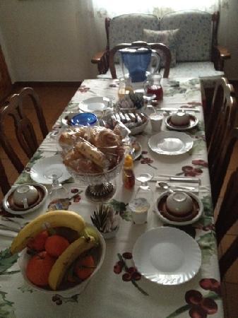 Piccolo Mondo Antico B&B : la colazione
