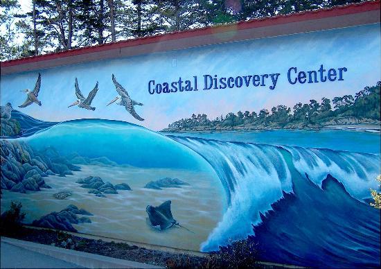 Coastal Discovery Center at San Simeon Bay (Monterey Bay NationalMarine Sanctuary): The Coastal Discovery Center Outside