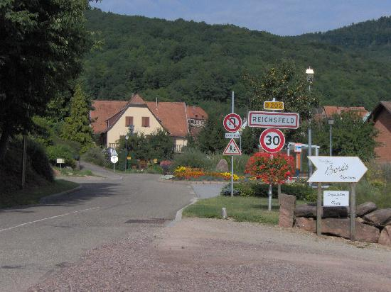 Reichsfeld, France: Town Sign